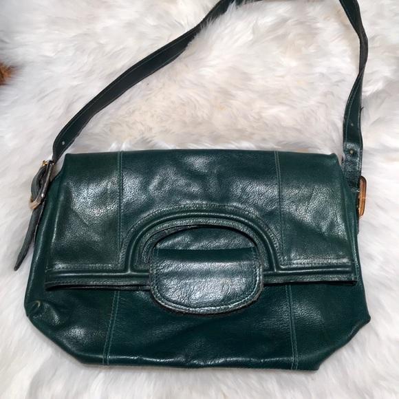 Joseph Magnin Bags   Vintage Green Leather Purse   Poshmark 7de3a8ac01